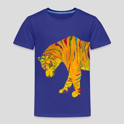 Contemplative Tiger toddler t-shirt - Toddler Premium T-Shirt
