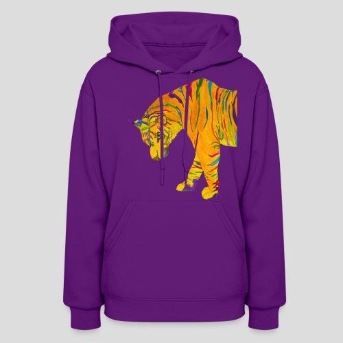 Contemplative Tiger women's hoodie - Women's Hoodie