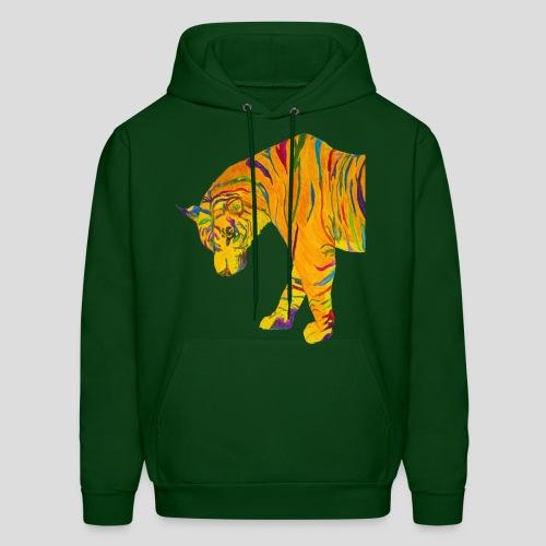 Contemplative Tiger kid's hoodie - Men's Hoodie