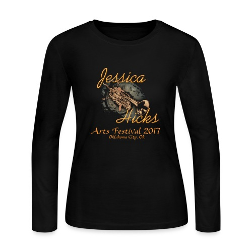 Women's Arts Festival 2017 - Women's Long Sleeve Jersey T-Shirt
