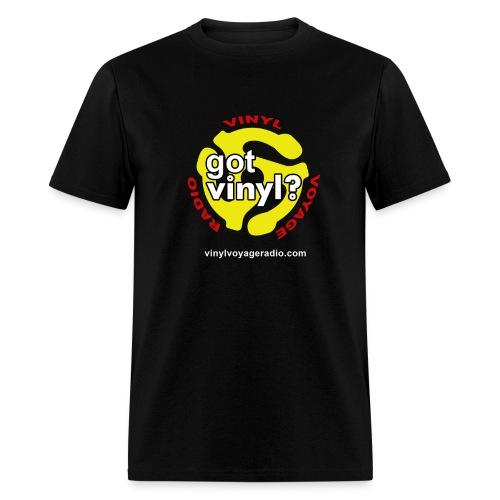 Vinyl Voyage Official Logo - Men's T-Shirt