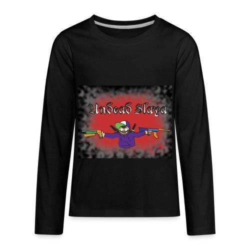 Kids Undead Slaya Long Sleeve T-shirt - Kids' Premium Long Sleeve T-Shirt