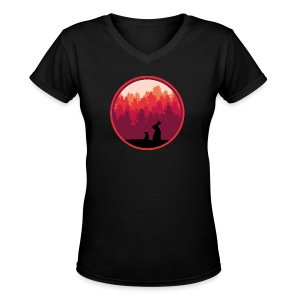 Bunnyrise - Women's V-Neck T-Shirt