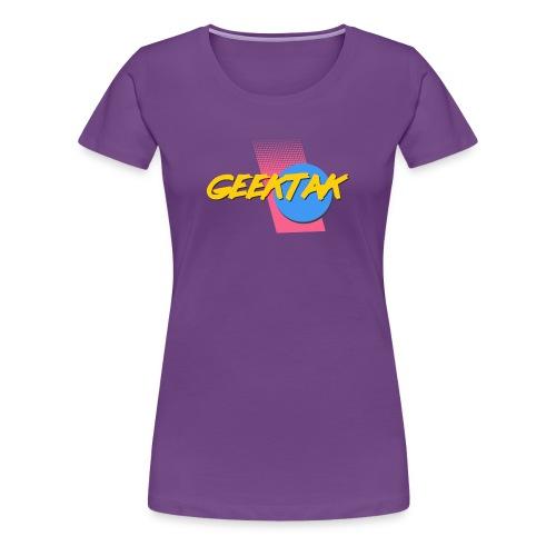 80's Geektak Women - Women's Premium T-Shirt