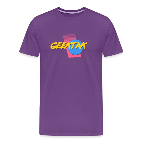 80's Geektak Men - Men's Premium T-Shirt