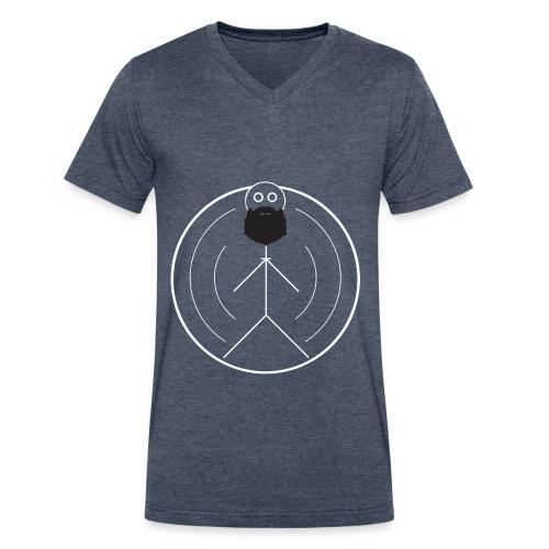Beard Gang V-Neck - Men's V-Neck T-Shirt by Canvas
