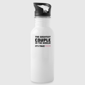 Greatest Couple in the world  U5rz0 Sportswear - Water Bottle