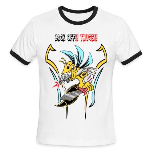 Spartan Hornet - Men's Ringer T-Shirt