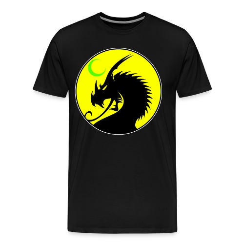 Enfantrix Yellow/Black/Green Shirt - Men's Premium T-Shirt
