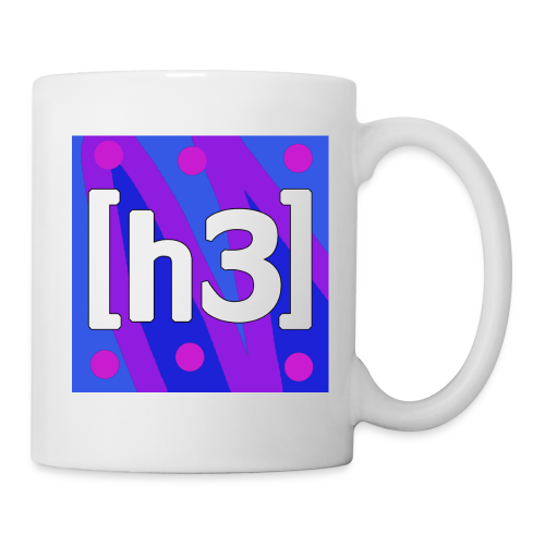 h3h3productions logo - Coffee/Tea Mug