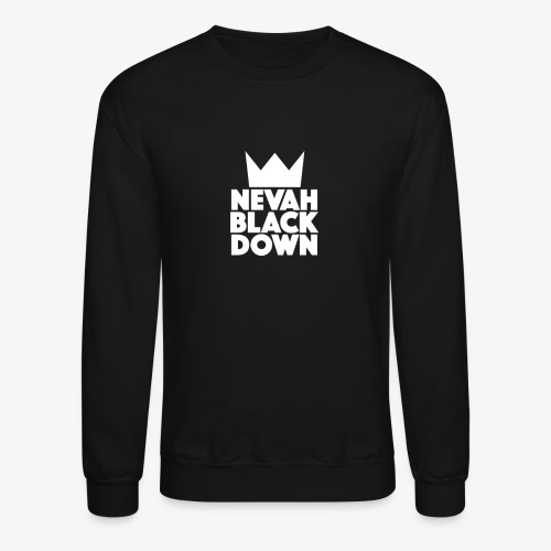 MENS CREWNECK BLACK SWEATSHIRT - Crewneck Sweatshirt