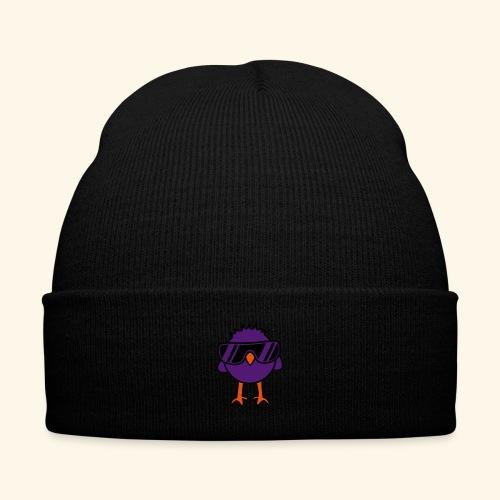 Knit Cap with Cuff Print