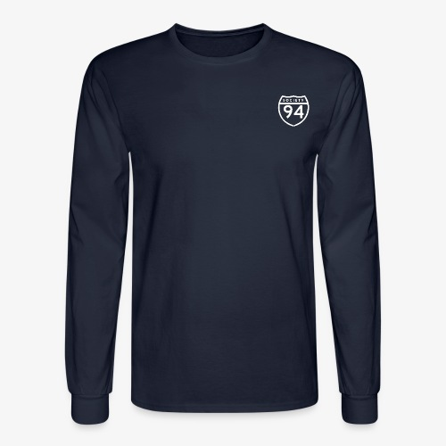Men's Long Sleeve 'Society' Tee v2 - Men's Long Sleeve T-Shirt