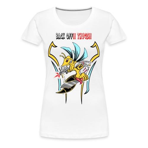 Spartan Hornet - Women's Premium T-Shirt