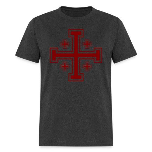 Jerusalem Cross - Men's T-Shirt
