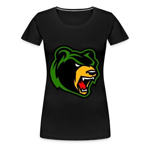 Womens Bear logo  - Women's Premium T-Shirt