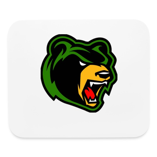 Bear Logo Mouse Pad - Mouse pad Horizontal