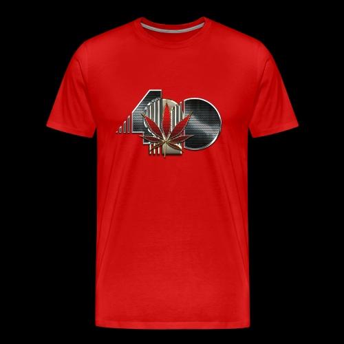 Men's Premium Red 420 T - Men's Premium T-Shirt
