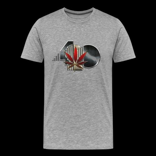 Men's Premium Gray 420 T - Men's Premium T-Shirt