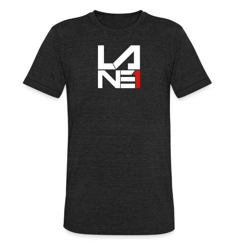 LOGO STACKED - Unisex Tri-Blend T-Shirt