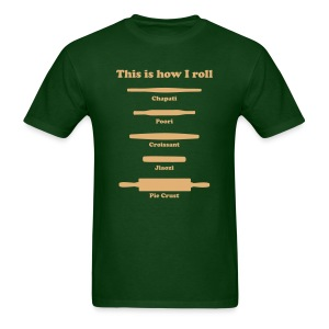This is how I roll (sand) - Men's T-Shirt