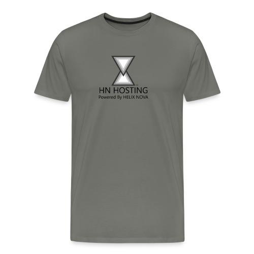 HN Hosting Monochrome Permium T-Shirt - Men's Premium T-Shirt