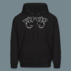 VIP in middle finger - Men's Hoodie