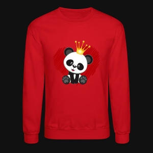cute panda love - Crewneck Sweatshirt