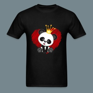 cute panda love - Men's T-Shirt