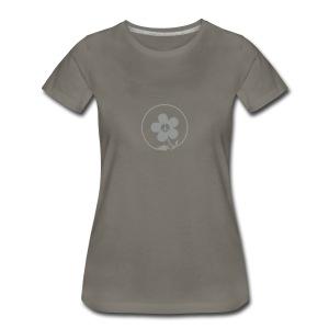 * PeaceFlower Unplugged * (velveteen.print) ☮ ✿  - T-shirt premium pour femmes