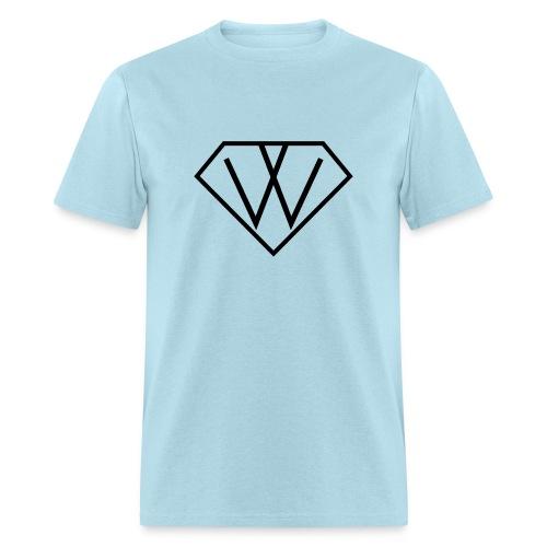 Men's Tshirt Diamon 2bleu - Men's T-Shirt