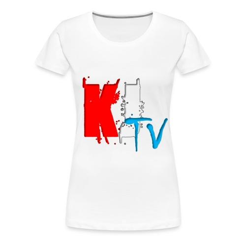 KJTv T-shirt - Women's Premium T-Shirt