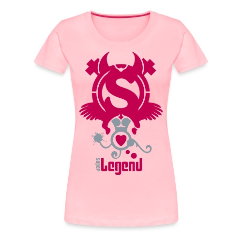 SUPERLEGEND WOMAN - front print - s/xxl - multi colors - Women's Premium T-Shirt