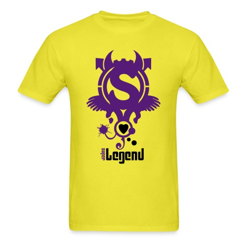 SUPERLEGEND MAN - front print - s/3xl - multi colors - Men's T-Shirt