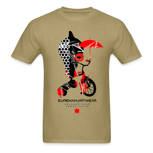 RELEASE YOUR INNER CHILD - front print - s/3xl - Men's T-Shirt