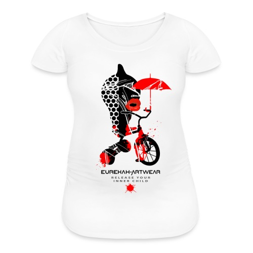 RELEASE YOUR INNER CHILD - front print - s/xl - Women's Maternity T-Shirt