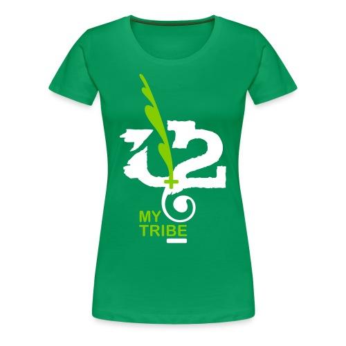 U+2=MY TRIBE - front print - s/3xl - Women's Premium T-Shirt