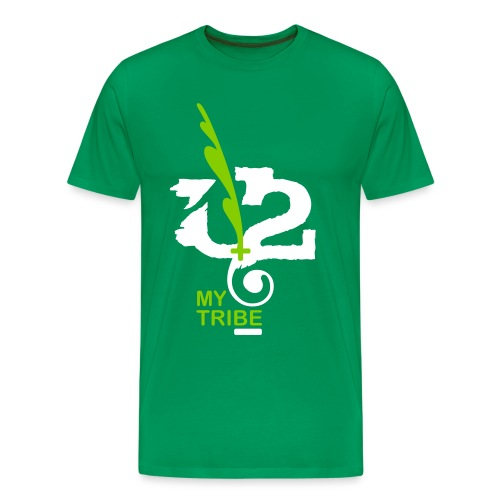 U+2=MY TRIBE - front print - s/5xl - Men's Premium T-Shirt