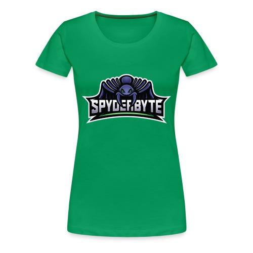 SpyderByte Purple Swag - Women's Premium T-Shirt