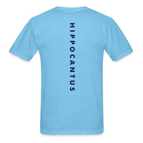 HIPPOCANTUS - back+front - s/3xl - Men's T-Shirt