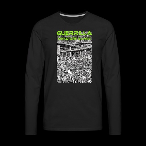 GMG Nerdgore Longsleeve T (Men's) - Men's Premium Long Sleeve T-Shirt