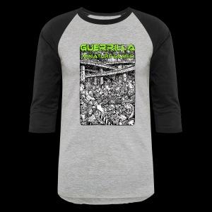 GMG Vintage Nerdgore Baseball T - Baseball T-Shirt