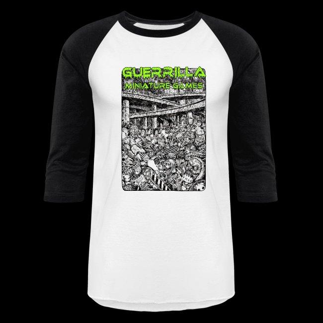 GMG Vintage Nerdgore Baseball T