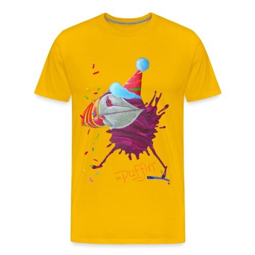 MR. PUFFIN - front print - s/3xl - multi colors - Men's Premium T-Shirt