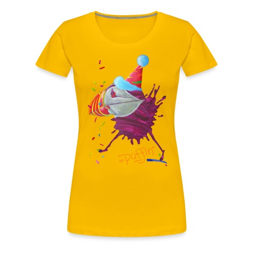 MR. PUFFIN - front print - s/xxl - multi colors - Women's Premium T-Shirt