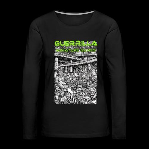 GMG Nerdgore Longsleeve T (Woman's) - Women's Premium Long Sleeve T-Shirt