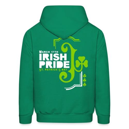 IRISH PRIDE - back print - s/xl - Men's Hoodie
