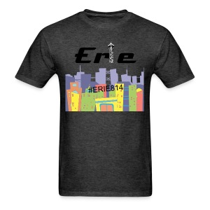#ERIE814 Support our Town Shirt - Men's T-Shirt