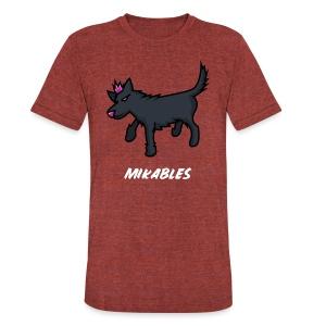 MIKABLES APPAREL SHIRT - Unisex Tri-Blend T-Shirt