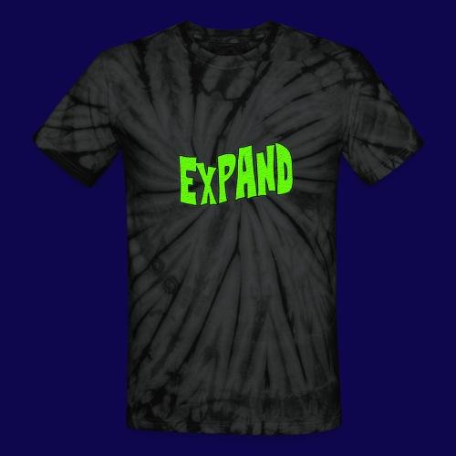 Expand Trippy VTVM T-Shirt {Black/Grey Tie Dye} - Unisex Tie Dye T-Shirt